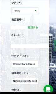 AMEGA FX(アメガFX) 登録 07