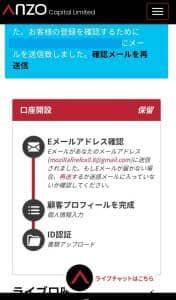 Anzo Capital(アンゾーキャピタル) 登録 04