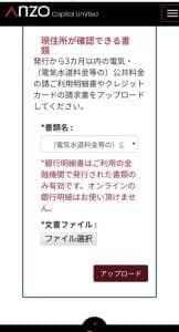 Anzo Capital(アンゾーキャピタル) 登録 09