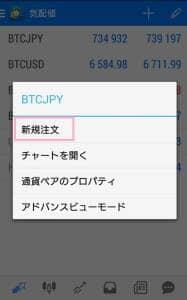 BITPoint(ビットポイント) FX 注文 02