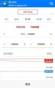 BITPoint(ビットポイント) FX Sell Stop(売り逆指値) 01