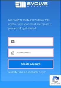 Evolve Markets(エボルブ・マーケット) 登録 02