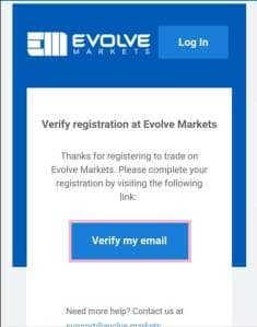 Evolve Markets(エボルブ・マーケット) 登録 04