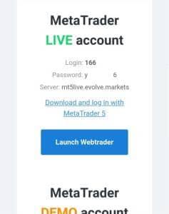 Evolve Markets(エボルブ・マーケット) 登録 05