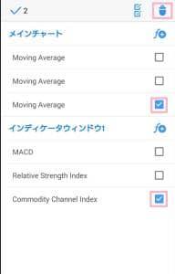 MetaTrader(メタトレーダー)4,5 アプリ テクニカル分析指標 削除 02