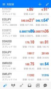 MT5アプリ CryptoGT 仮想通貨追加 04